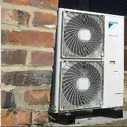 Air To Air source Heat Pumps