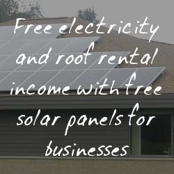 Free Solar Panels For Businesses