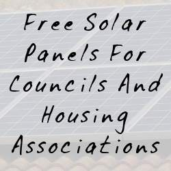 solar panels for social housing