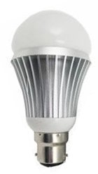 led light bulb for use with solar panels