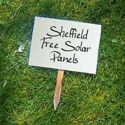sheffield free solar panels