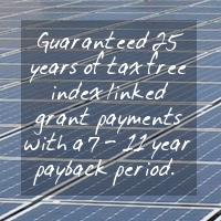 solar panel grants replaced by feed in tariff